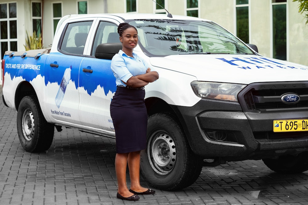Jesca with Hill water Ford